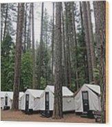 Camp Curry Wood Print