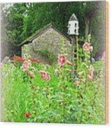Camp Dennison Garden Wood Print