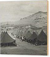 Camp Garcia In Vieques  Wood Print