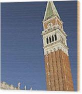 Campanile In Venice Wood Print