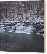 Campbell Falls Wood Print