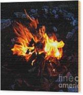Campfire Wood Print