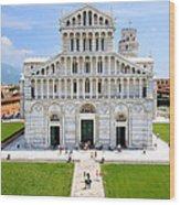 Campo Dei Miracoli - Pisa Wood Print