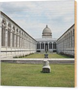Camposanto  Cathedral Pisa Wood Print