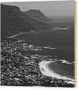 Camps Bay Cape Town Wood Print by Aidan Moran