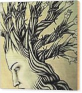 Can Shaping Me But The Essence Never Changes Wood Print