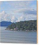 Canada Lighthouse Wood Print
