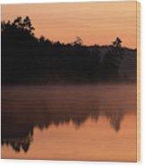 Canada, Ontario, Sudbury, Tilton Lake Wood Print