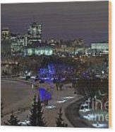 Canada's Capital Wood Print