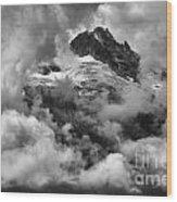 Canadian Coastal Mountains - Tantalus Mountains Wood Print