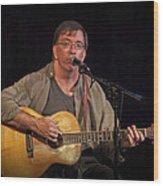 Canadian Folk Singer James Keeglahan Wood Print
