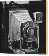 Canadian Kodak Black And White Camera Wood Print