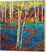 Canadian  Landscape Artist Carole Spandau Wood Print