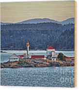 Canadian Lighthouses Sc3415-13 Wood Print
