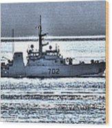 Canadian Navy Nanaimo M M702 Wood Print