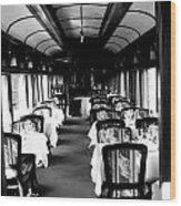 Canadian Pacific Dining Wood Print