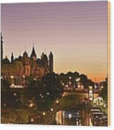 Canadian Parliament Buildings Wood Print by Tony Beck