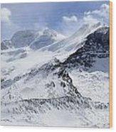 Canadian Rockies 2 Wood Print