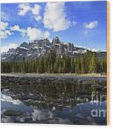 Canadian Rockies 8 Wood Print