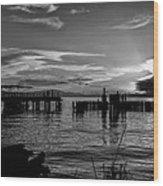 Canadian Sea Wood Print
