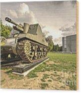 Canadian Tank  Wood Print
