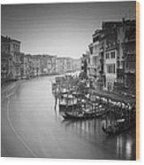 Canal Grande Study IIi Wood Print by Nina Papiorek