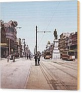 Canal Street New Orleans 1900 Wood Print