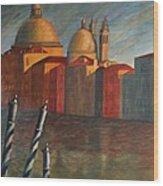 Canale Grande Venice Wood Print