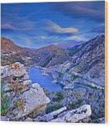 Canales Lake Wood Print