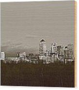 Canary Wharf 6 Wood Print