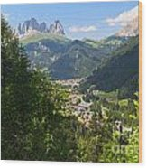 Canazei - Val Di Fassa Wood Print