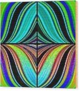 Candid Color 23 Wood Print