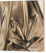 Candle Holder 4 Wood Print