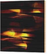 Candlelight Wood Print