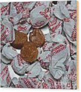 Candy - Coconut Butterscotch Kisses - Sweets Wood Print