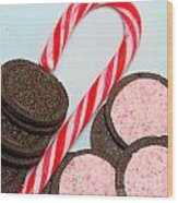 Candy Cane -  Cookies - Sweets Wood Print