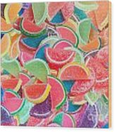 Candy Fruit Wood Print