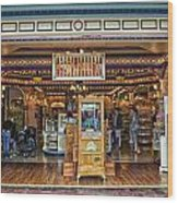 Candy Shop Main Street Disneyland 01 Wood Print