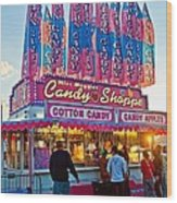 Candy Shoppe Wood Print
