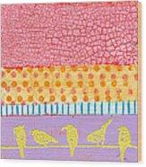Candy Stripes Wood Print