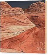 Candyland Canyons Wood Print
