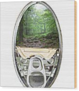 Canned Forest Wood Print