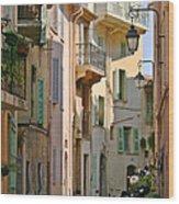 Cannes - Le Suquet - France Wood Print