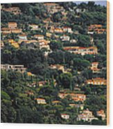 Cannes - Life Which Everybody Dreams Of Living Wood Print by Christine Till