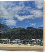 Cannon Beach South Wood Print