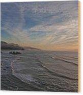 Cannon Beach Sunset Wood Print