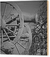 Cannon Fire Of Washington Wood Print