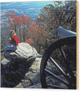 Canon On Lookout Mountain Wood Print