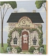 Canterbury Cupcakes Wood Print by Catherine Holman
