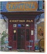 cantina Ala Wood Print